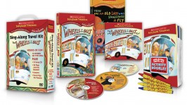 The Wheels on the Bus Sing-Along Travel Kit