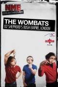 NME Breakthrough: The Wombats, February 23, 2009, O2 Shepherds Bush Empire, London