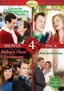 Hallmark Holiday Collection 4 (Love At The Thanksgiving Day Parade, Christmas Song, Baby's First Christmas, Bride for Christmas)