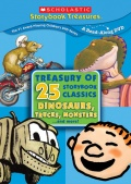 The Scholastic Treasury of 25 Storybook Classics - Dinosaurs, trucks and more