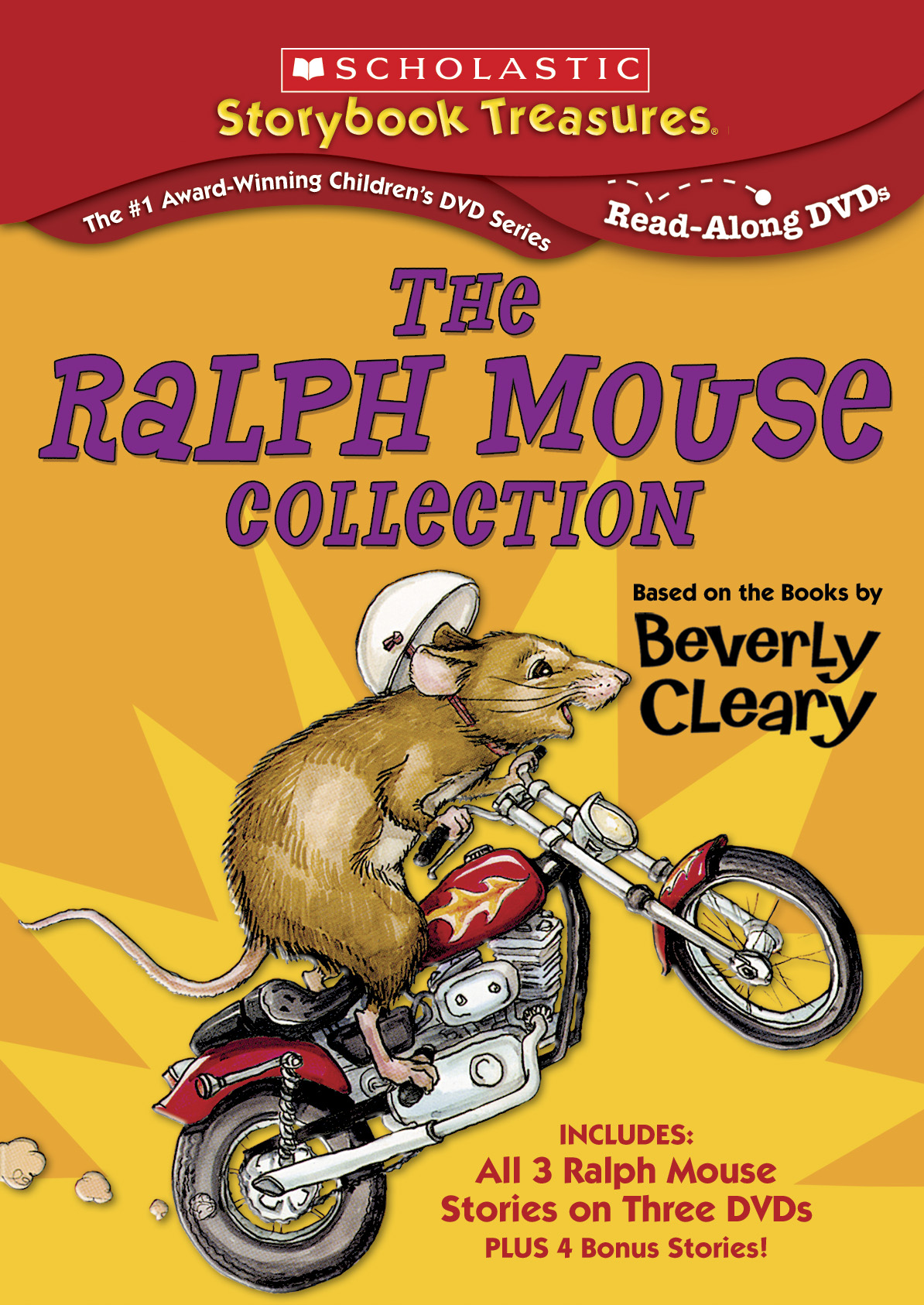The Ralph Mouse Collection 3 pk. set - Ages 5+ - Cinedigm Entertainment