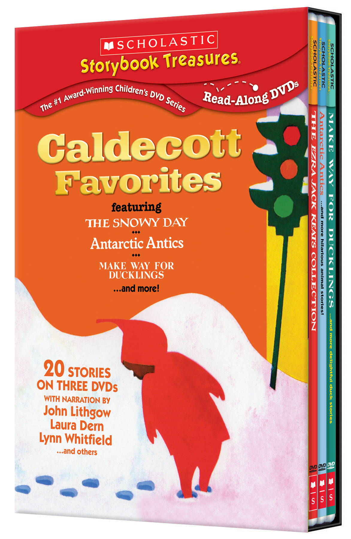 Caldecott Favorites Featuring The Snowy Day 3 Pk Dvd