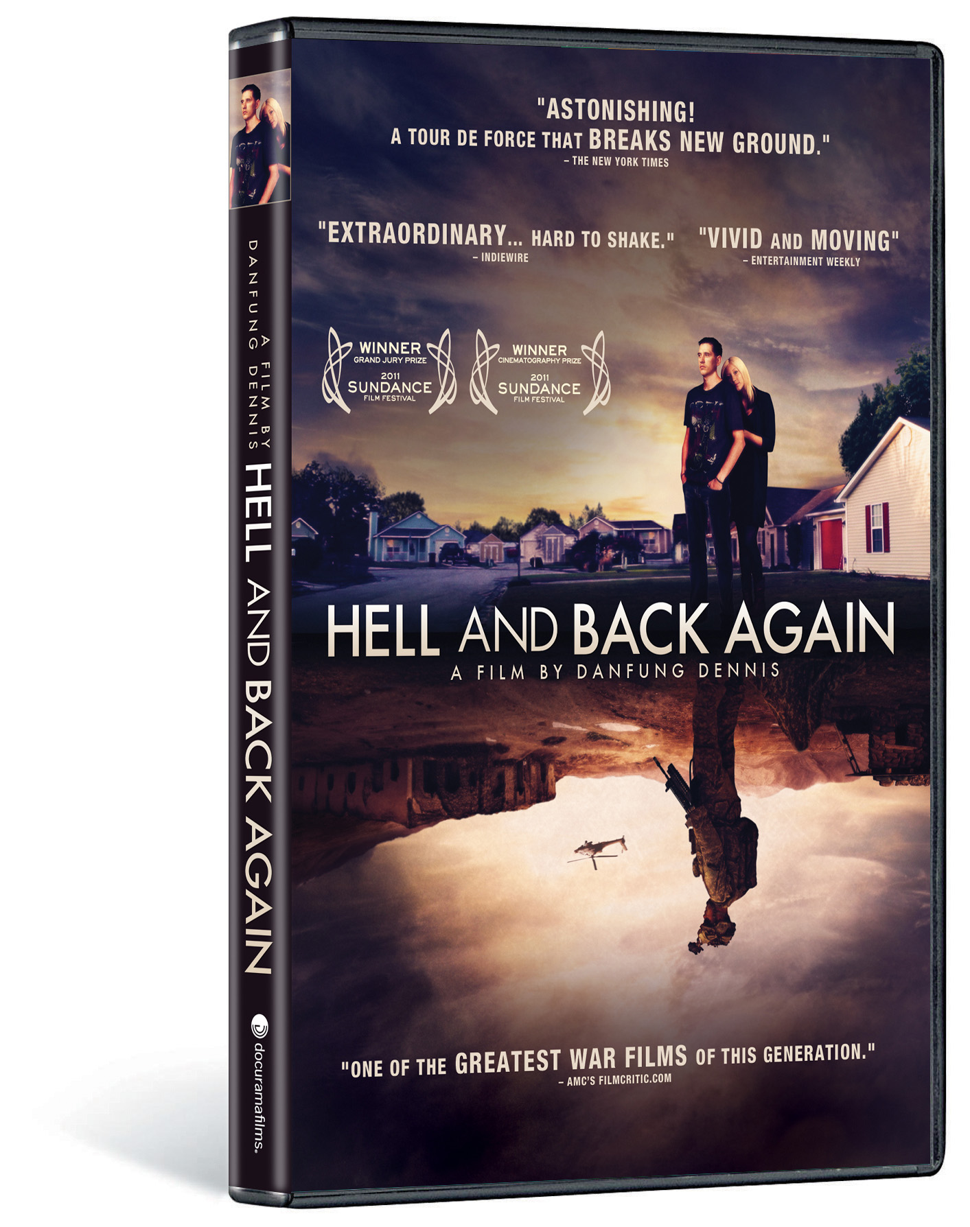 """documentary hell and back again Cut to two years later and he's a first time filmmaker thanks to his award-winning documentary, """"hell and back again"""" the film was born out of dennis' chance meeting with sergeant nathan."""