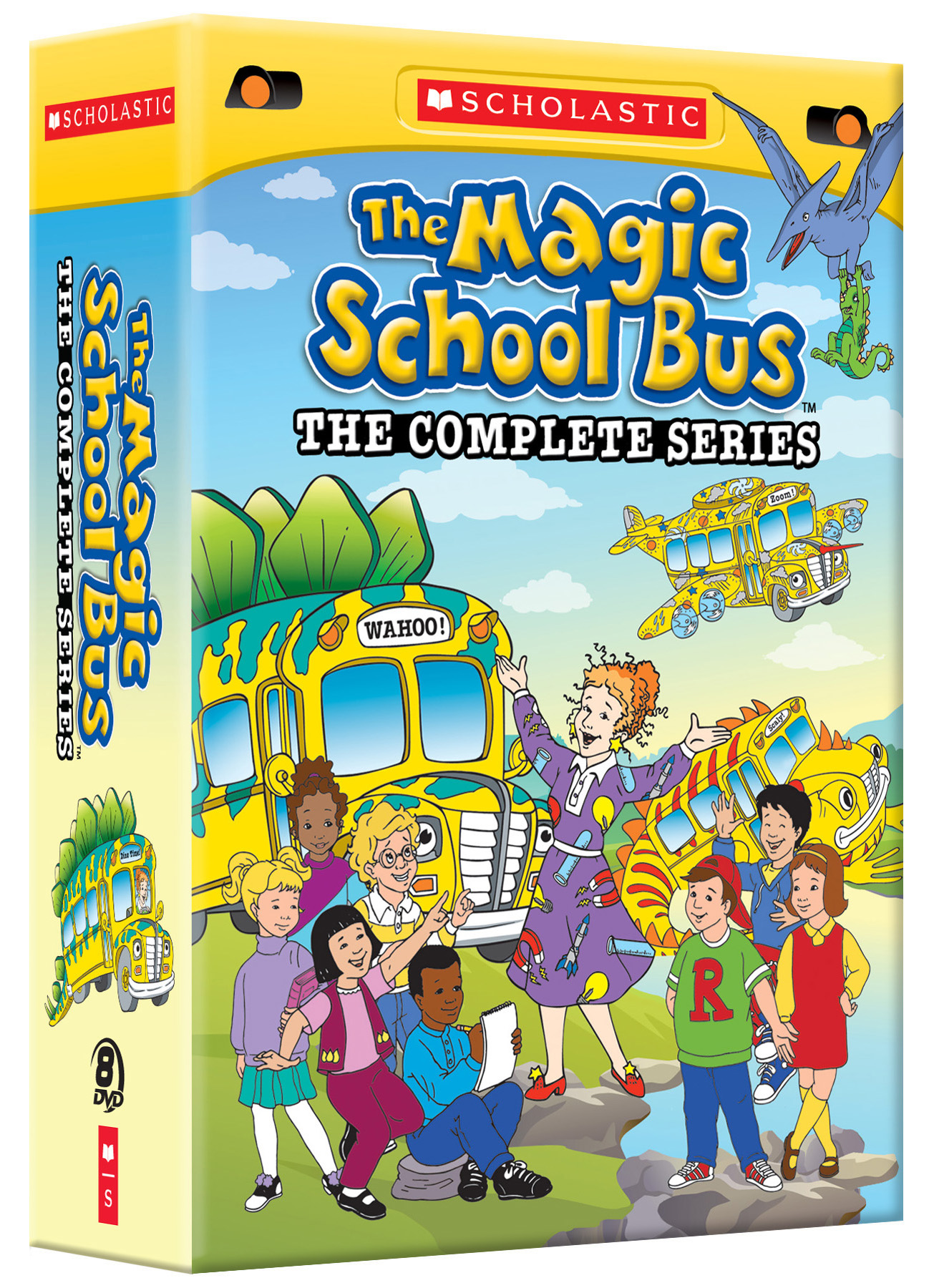 the magic school bus the complete series scholastic. Black Bedroom Furniture Sets. Home Design Ideas