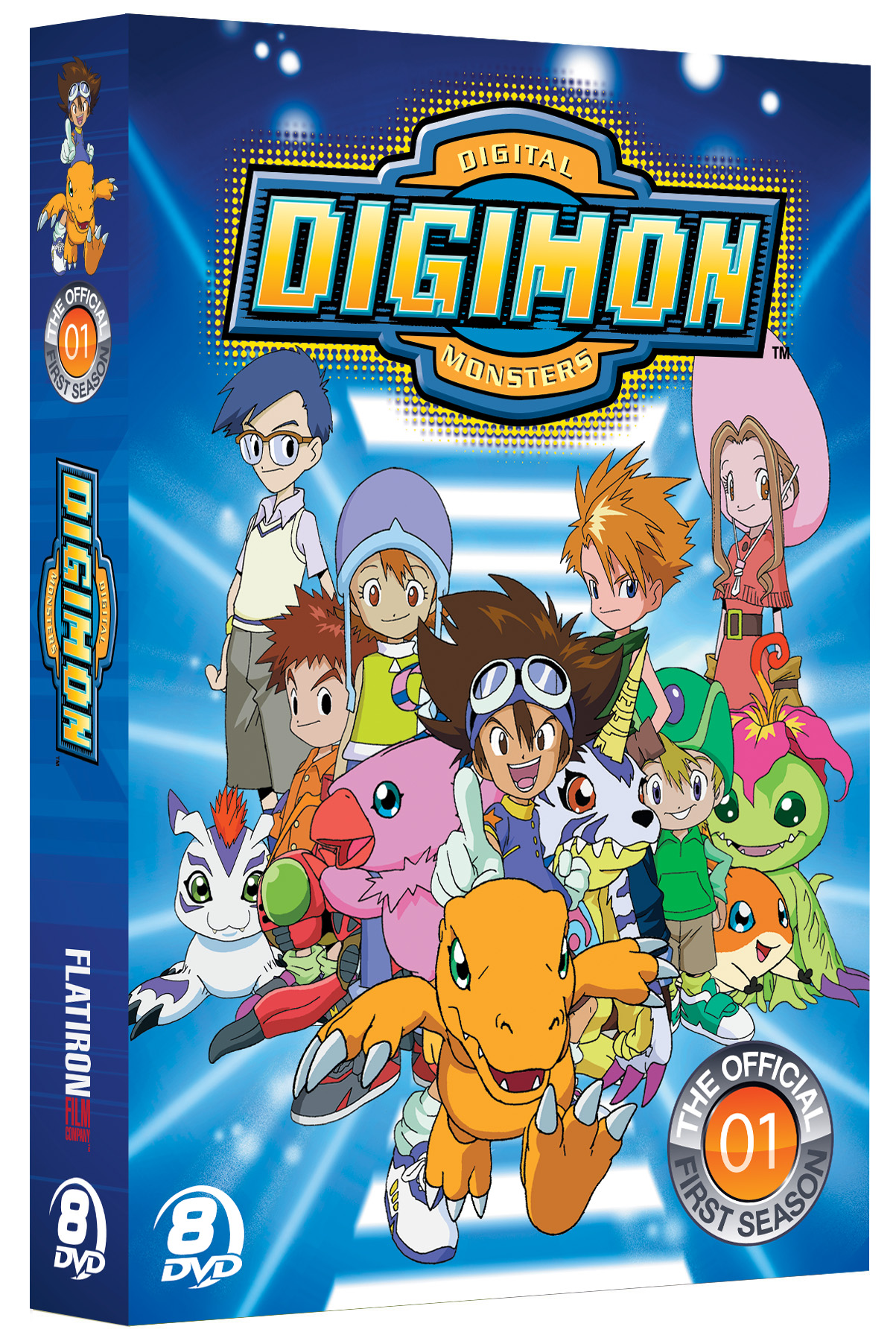 The Official Digimon Adventure Set The Complete First