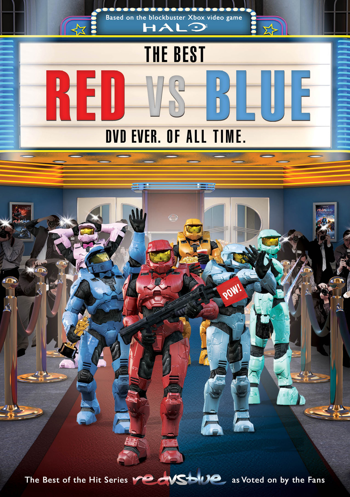 The Best Red Vs Blue Dvd Ever Of All Time Flatiron