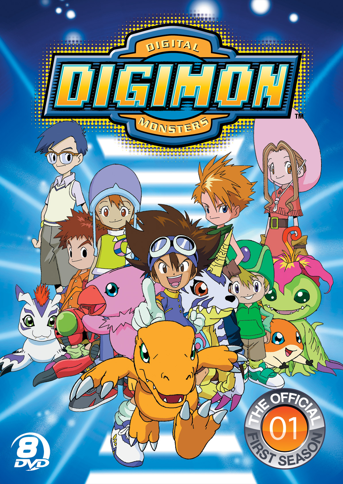 The Official Digimon Adventure Set, The Complete First ...