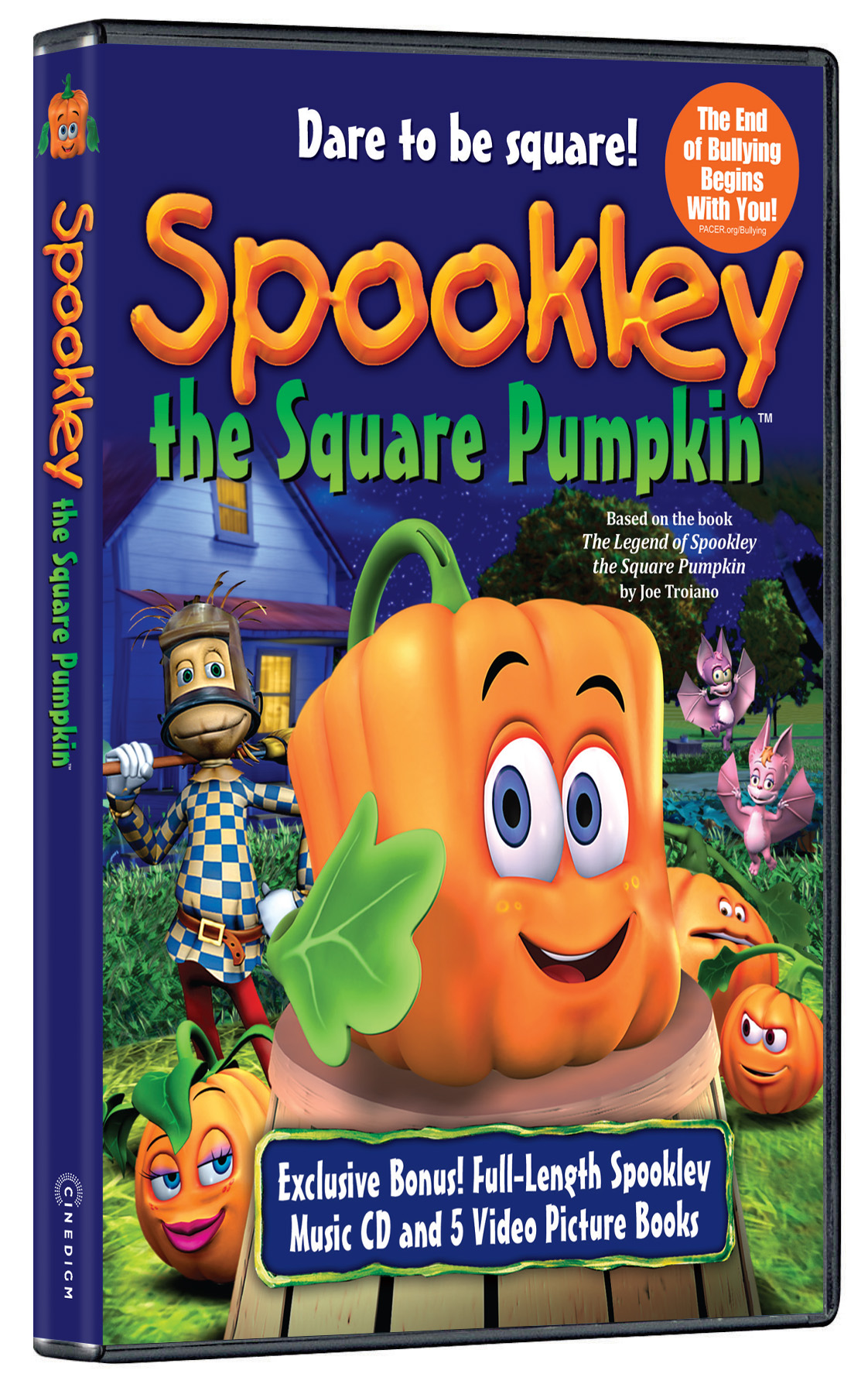 spookley the square pumpkin holiday cinedigm entertainment