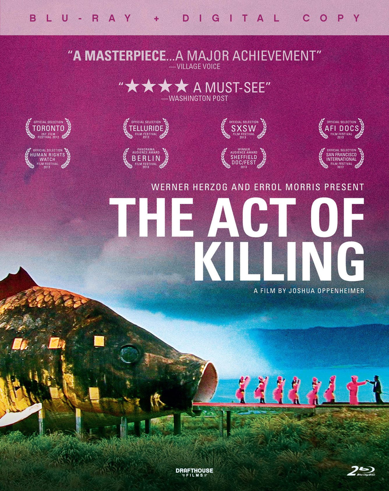 The Act Of Killing Drafthouse Cinedigm Entertainment