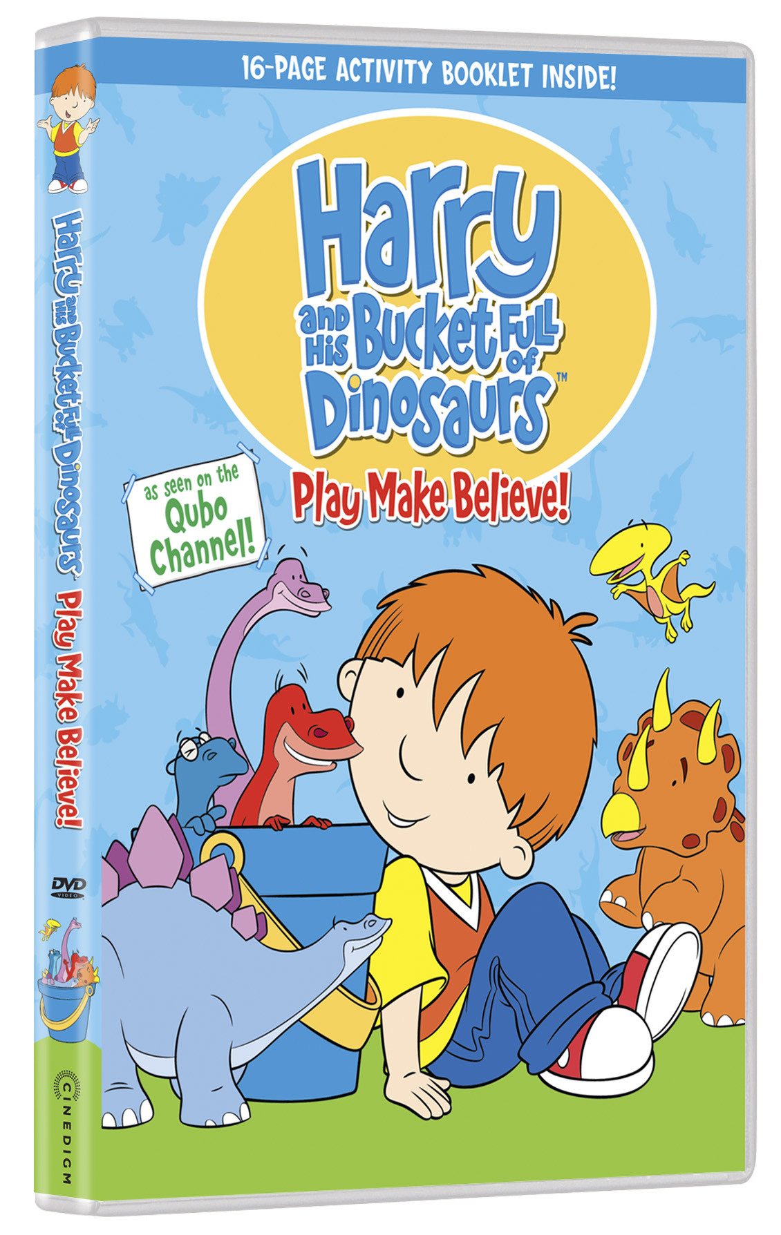 Harry and His Bucket Full of Dinosaurs: Play Make Believe ...