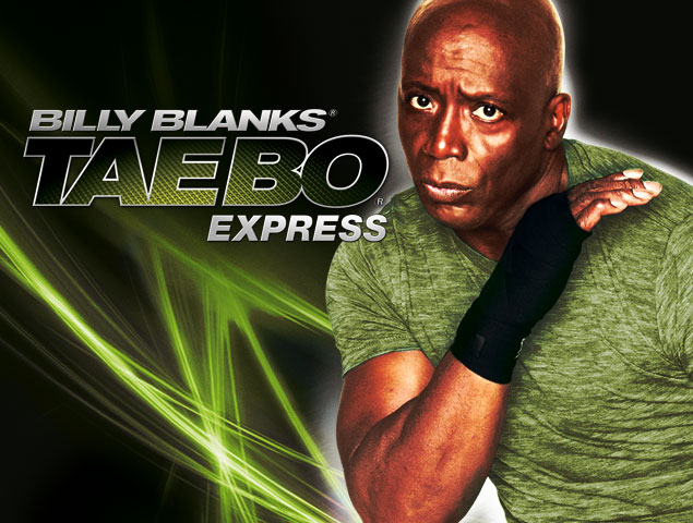 Billy Blanks Tae Bo 174 Express New Video Digital