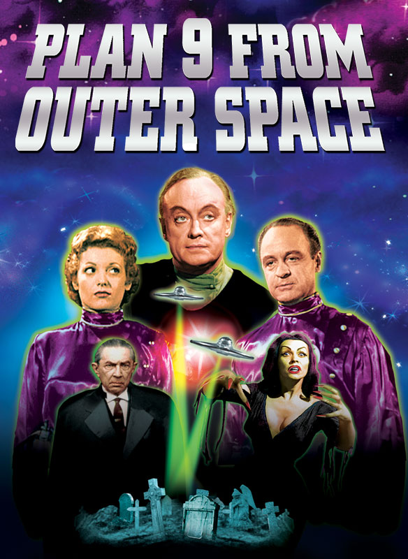 Plan 9 From Outer Space (In Color & Restored) - New Video ...