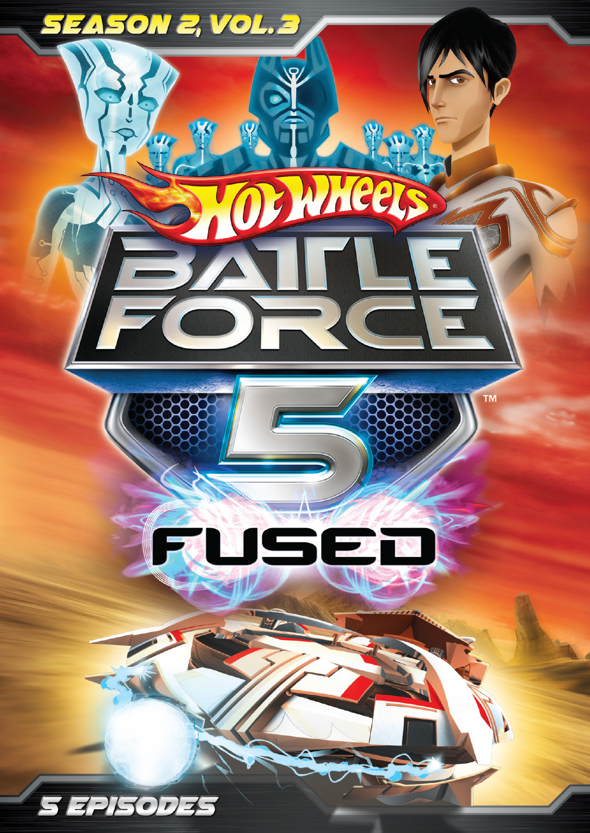 Hot Wheels Battle Force 5 Season 2 Vol 3 Cinedigm