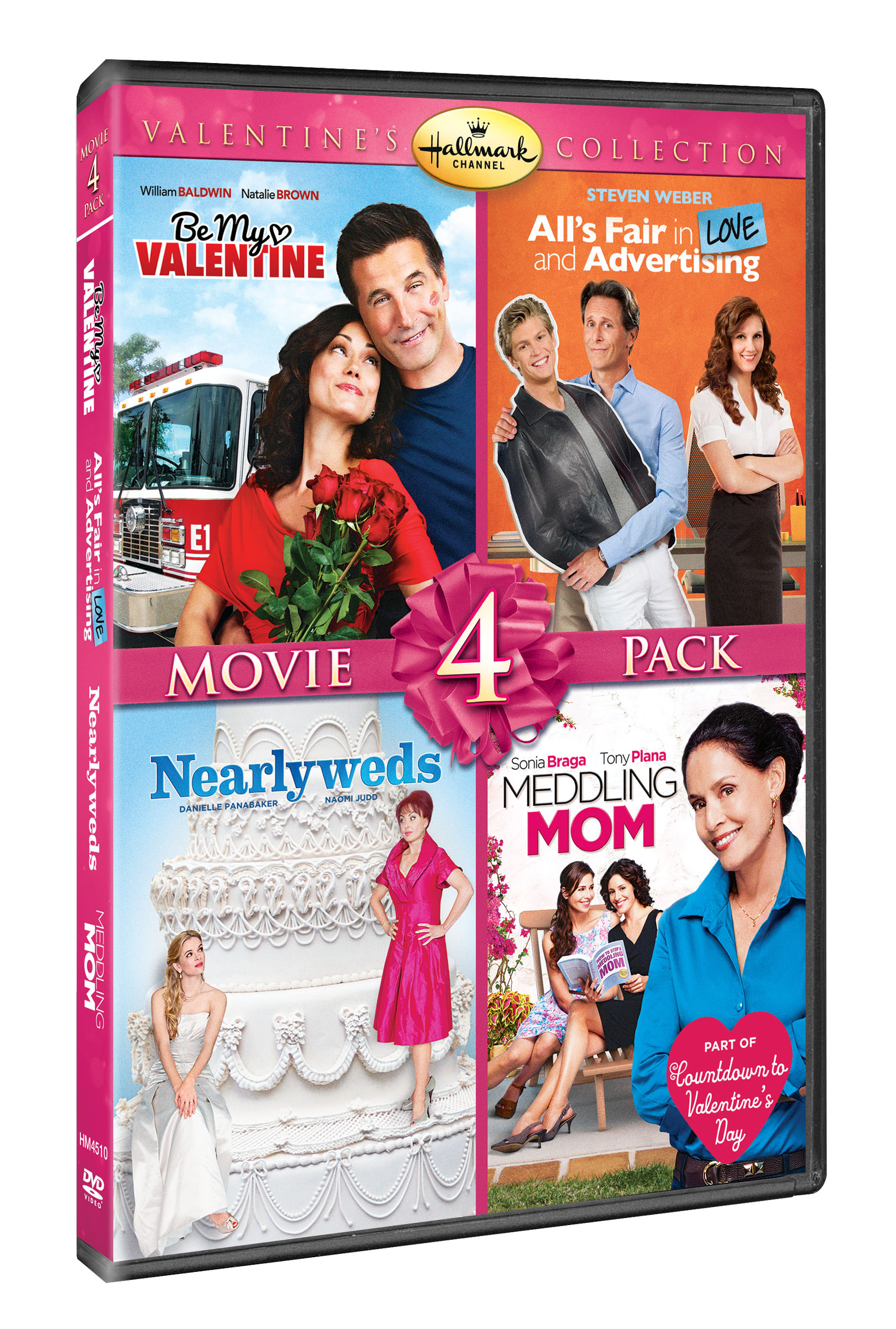 Hallmark Valentineu0027s Day Quad (Allu0027s Fair In Love And Advertising, Be My  Valentine,