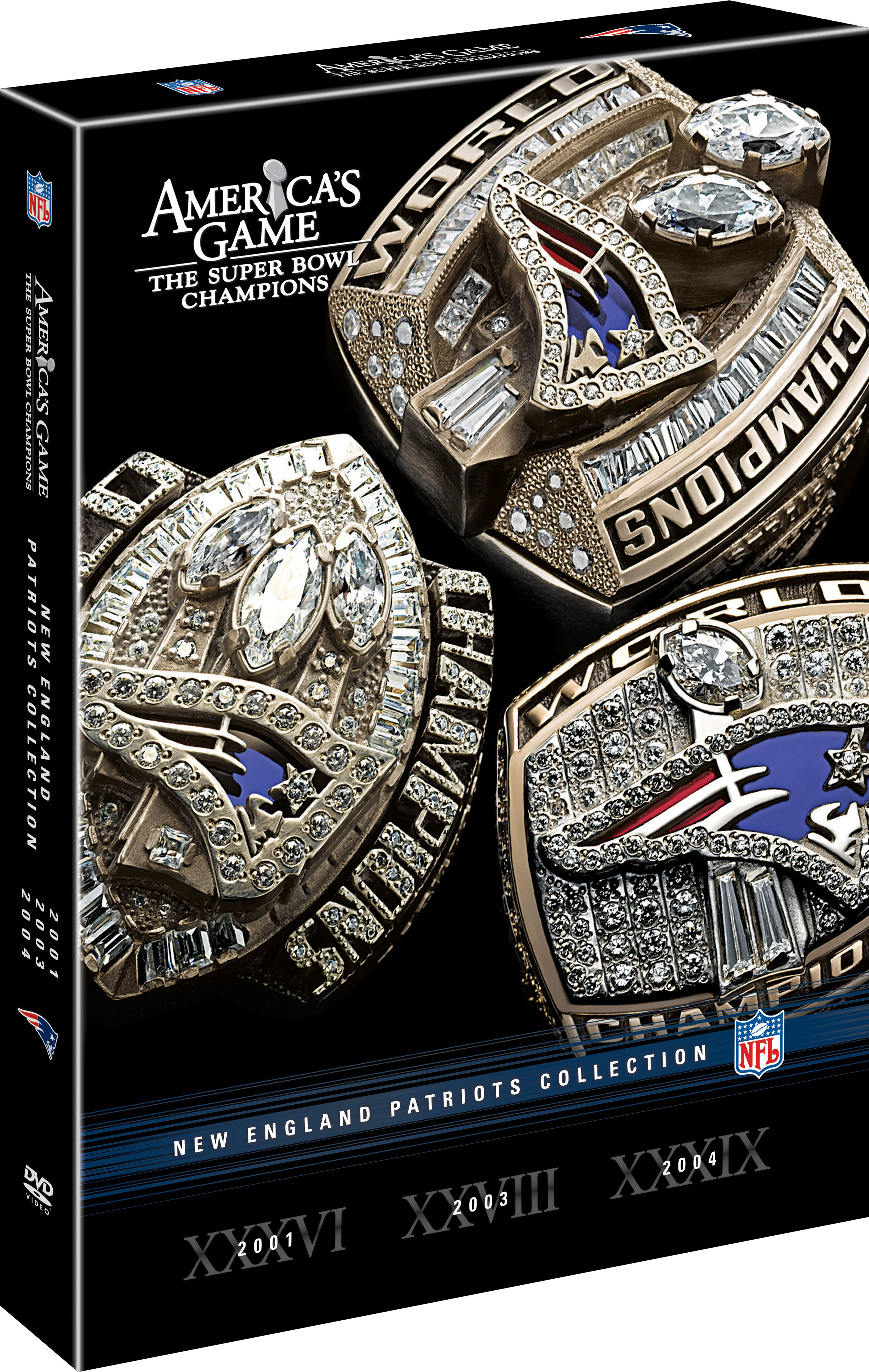 America S Game Patriots Collection Nfl Productions
