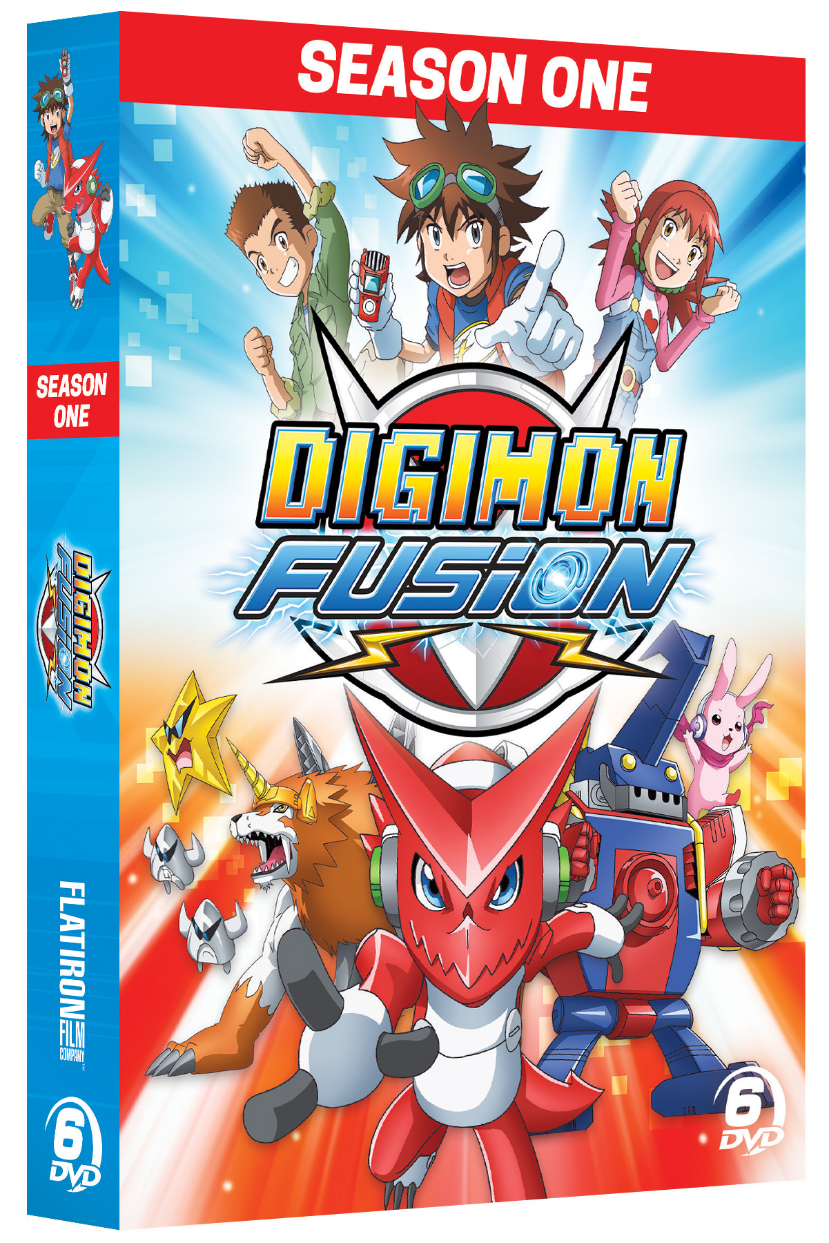 Digimon Fusion - Flatiron Film Company - Cinedigm Entertainment