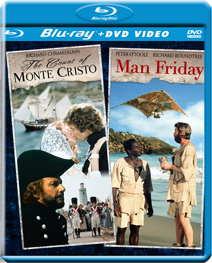 The Count Of Monte Cristo/ Man Friday Double Feature (DVD