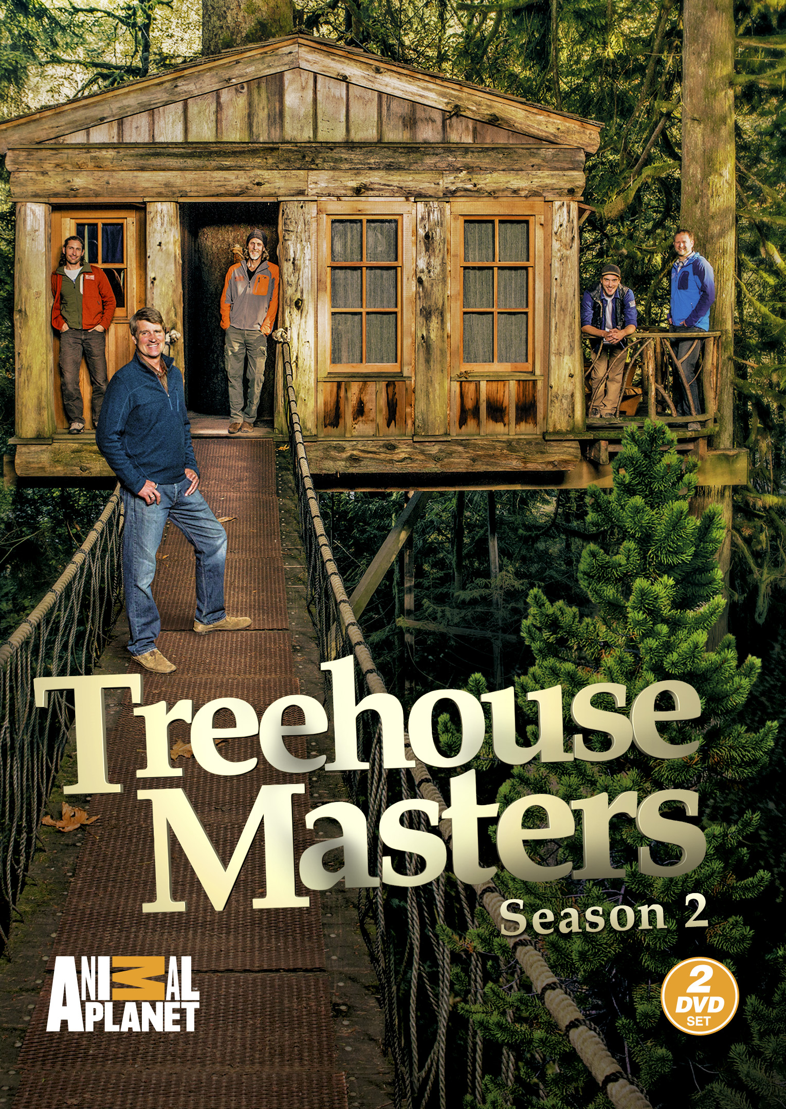 Treehouse Masters Season Discovery Communications Cinedigm