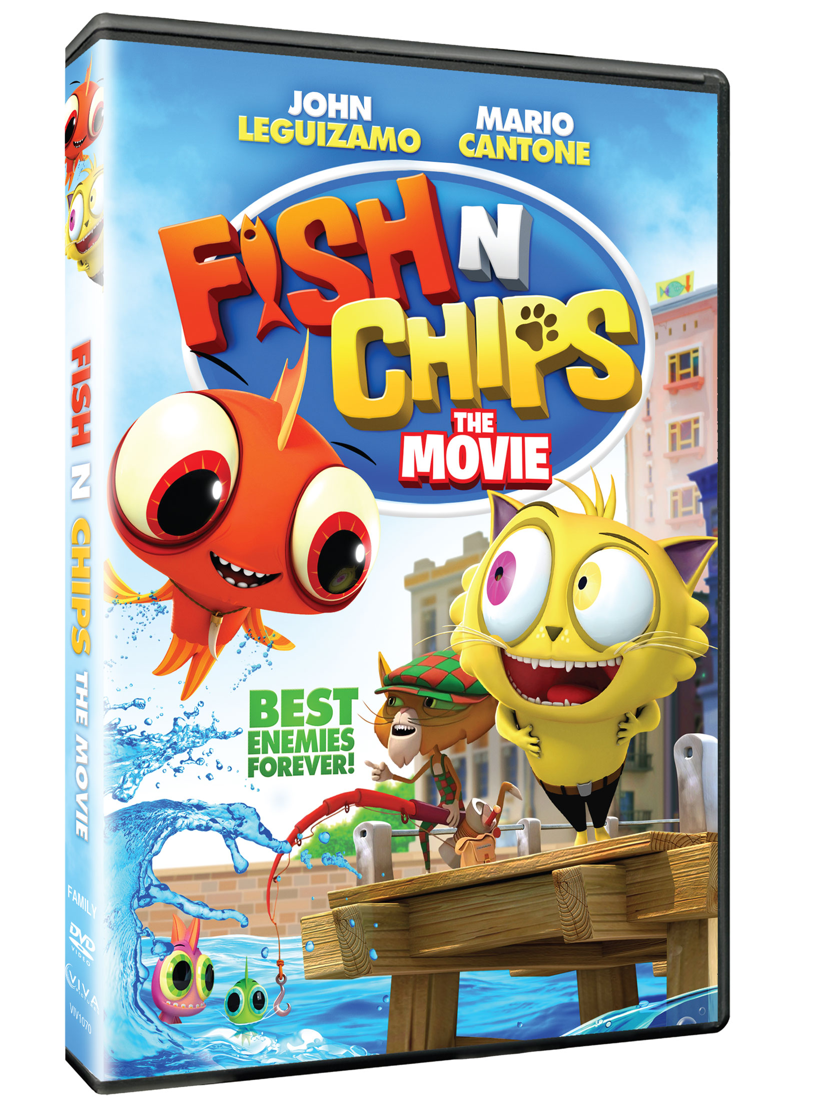 Fish N Chips Cartoon Characters : Fish 'n chips the movie viva pictures cinedigm
