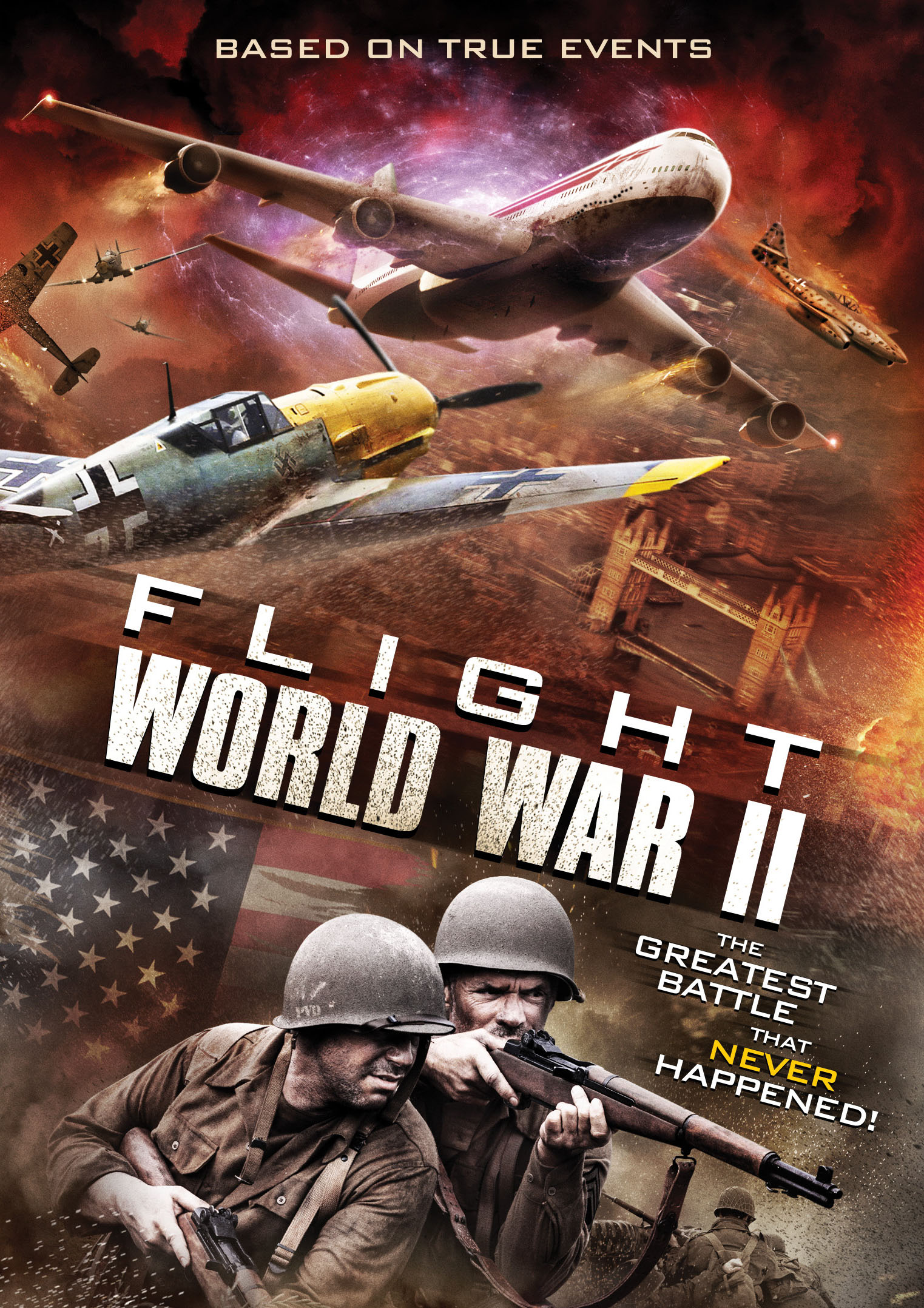 Flight World War Ii The Asylum Cinedigm Entertainment