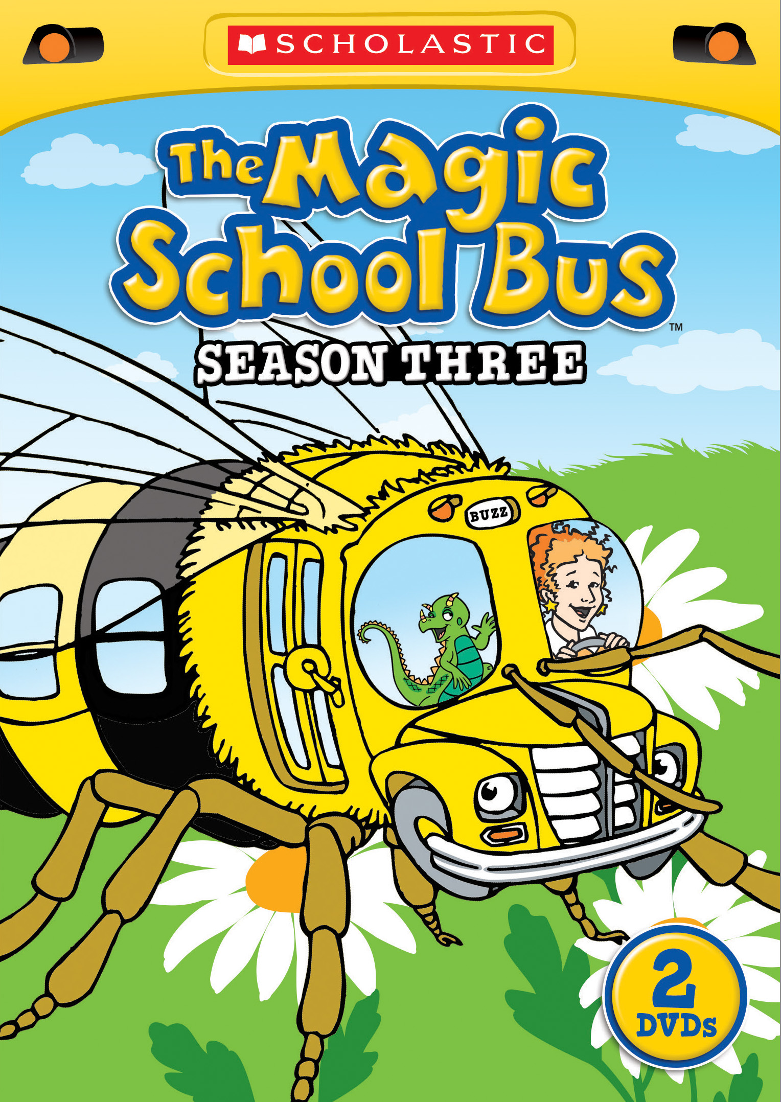 the magic school bus season 3 scholastic cinedigm entertainment