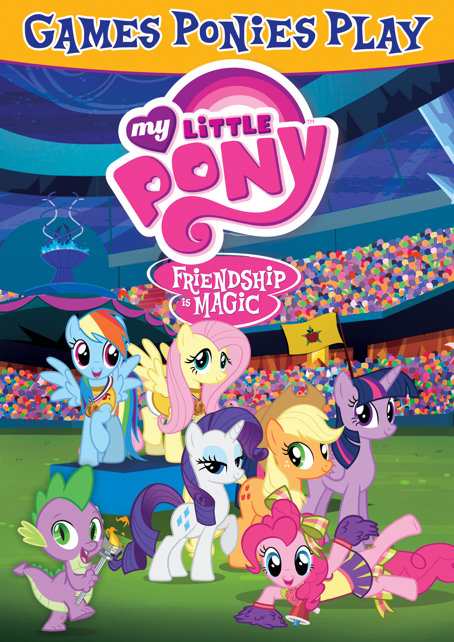 My Little Pony Friendship Is Magic: Games Ponies Play ...