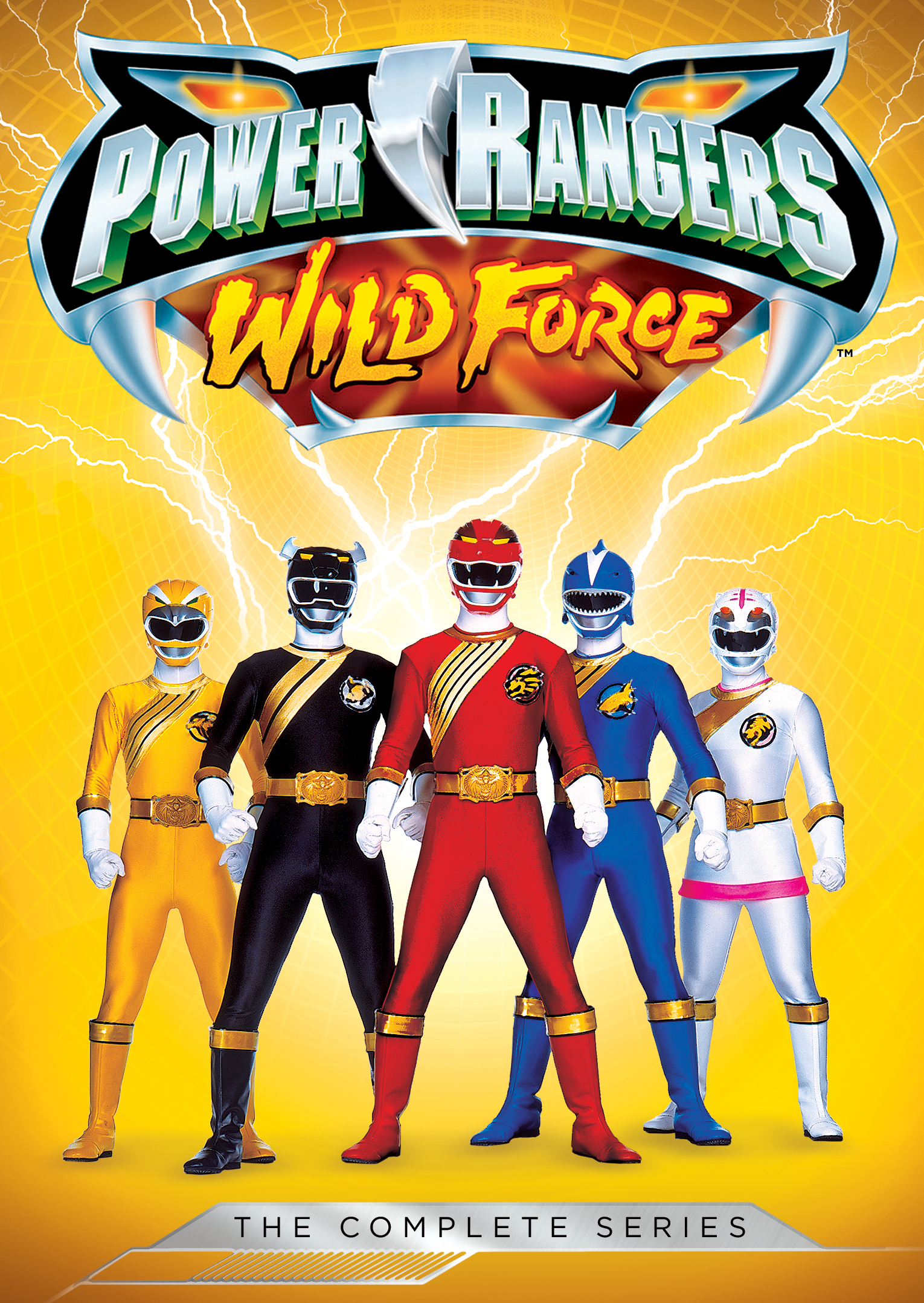 Power Rangers Wild Force The Complete Series