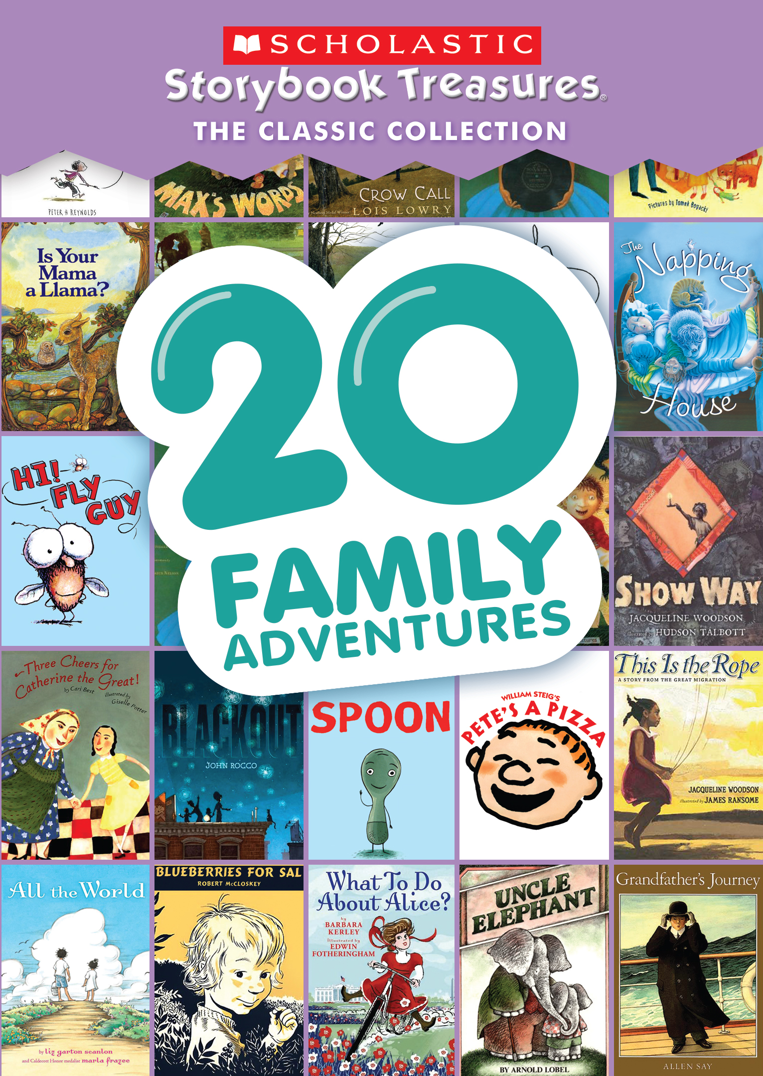 20 Family Adventures Scholastic Storybook Treasures The