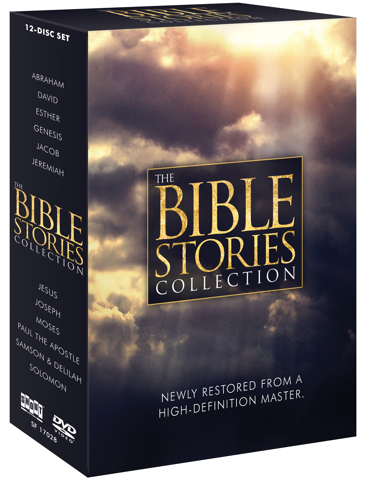 The Bible Stories Collection - Shout! Factory - Cinedigm ... Ben Kingsley