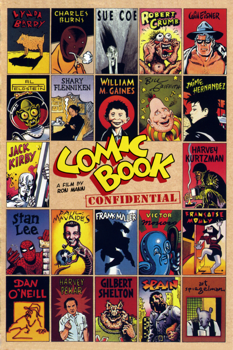 Comic Book Confidential New Video Digital Cinedigm
