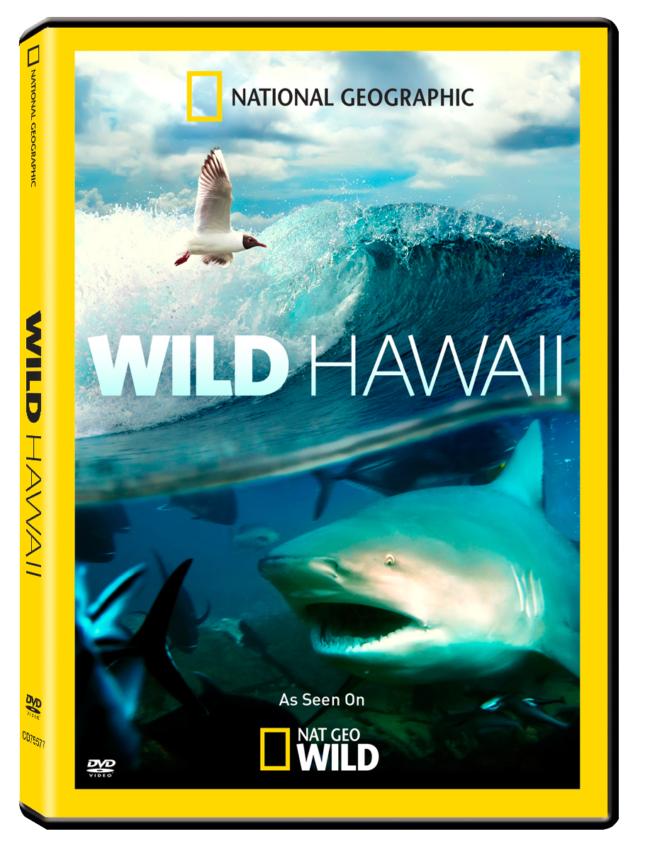 wild hawaii national geographic cinedigm entertainment