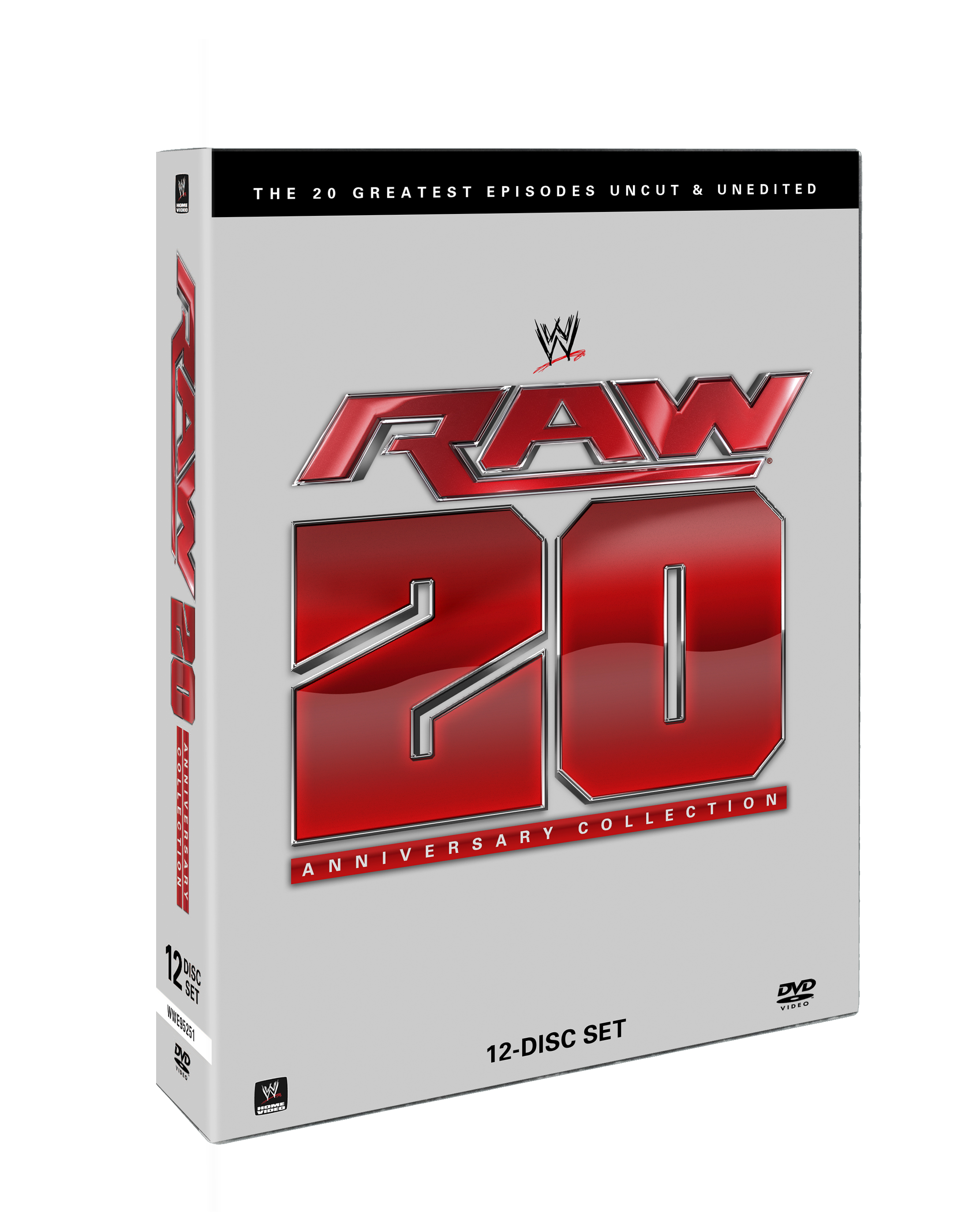 Raw 20th Anniversary Collection: The 20 Greatest Episodes Uncut ...