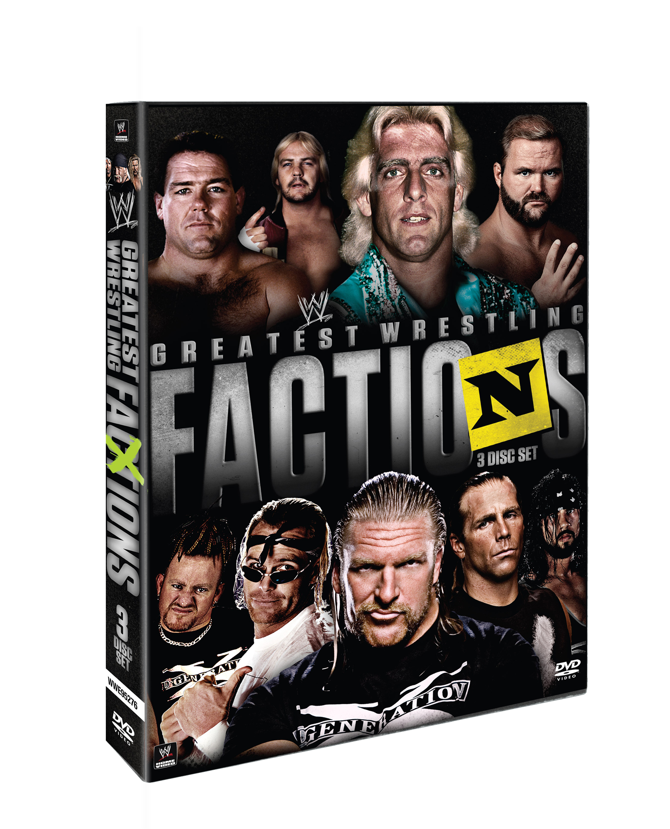 WWE Presents… Wrestling's Greatest Factions - WWE - Cinedigm ...